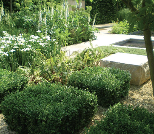 Gardens which bloom all year round